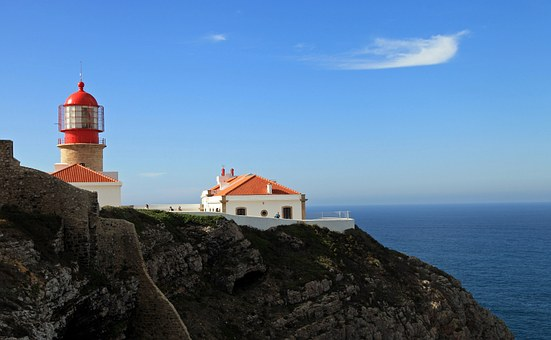 Portugal, West Coast, Atlantic, Lighthouse