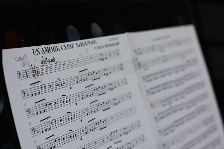 Score, Sheet Music, Music, Art