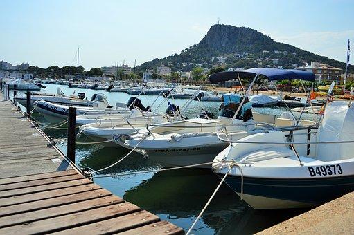 Boats, Web, Wood, Boards, Ships, Sea, Port, Lake, Ocean