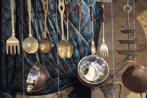 Tableware, Depend, Cook, Fork, Spoon, Eat, Prepare