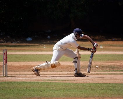 Cricket, Cricketer, Batting, Defensive, Stumps, Player