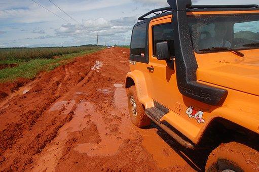 Mud, Offroad, Troller, 4x4, Diesel, Mt, Trip, Travel
