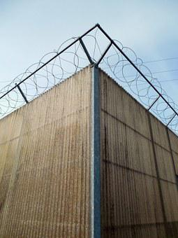 Barbed Wire, Sure, Security, Wire, Limit, Fence