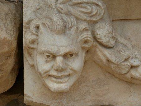 Aphrodisias, Antique, Antiquity, Temple, Sculptor