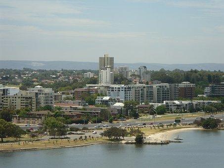 Perth, Scenic, Cityscape, Australian, Western