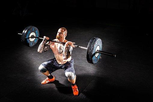 Barbell, Bodybuilding, Effort, Exercise, Fitness, Gym
