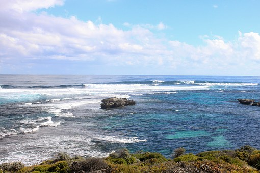 Rottness Island, Perth, Sea, Australia, Blue, Beach