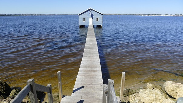 Crawley Edge Boat Shed, Boat Shed, Boat House, Ocean