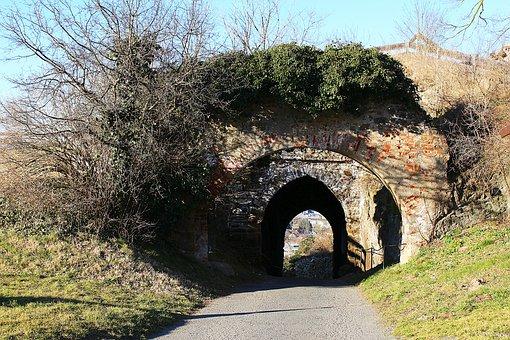 Castle Wall, Castle Gate, Castle, Güssing