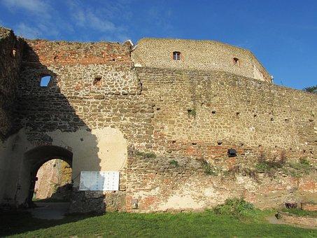 Castle, Castle Gate, Castle Wall, Güssing