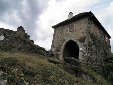 Castle, Hardegg, Gate, Old, Ruins, Historical, Stones