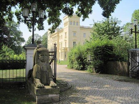 Schloß Steinhöfel, Castle, Park Entrance, Castle Park