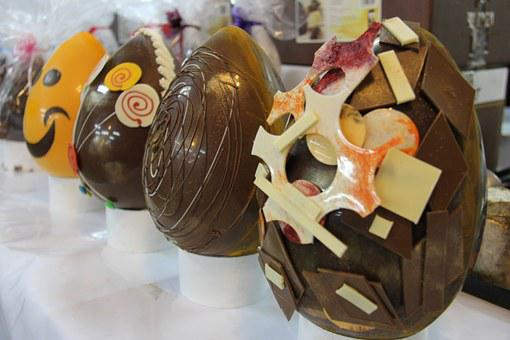 Chocolate Factory, Eggs, Easter
