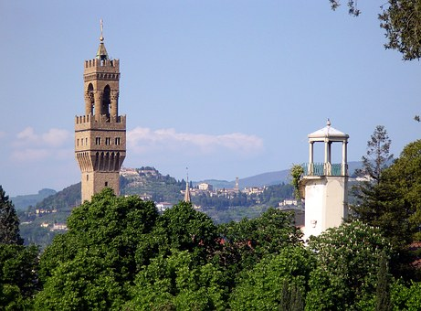 Florence, Old Palace, Of Arnolfo Tower, Fiesole
