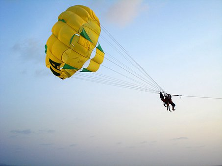 Parachute, Hobby, Freefll, Extreme, Sport, Adventure