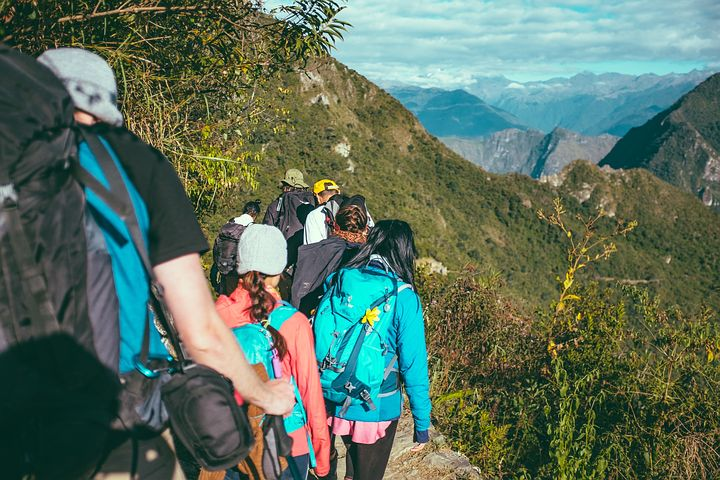 Adventure, Clouds, Exploration, Group, Hikers, Hiking