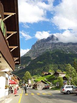 Interlaken, Swiss, Jungfrau Would Yo