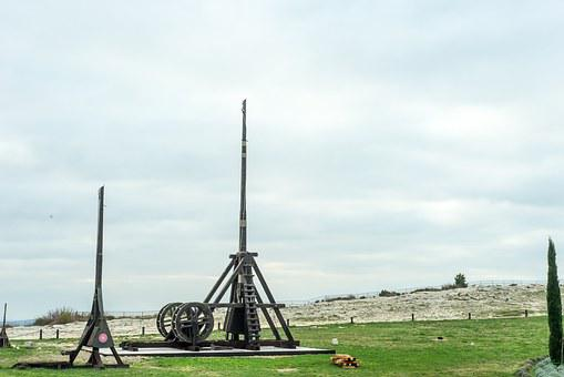 Trebuchet, Middle Ages, Siege, Knight, Conquest, Castle