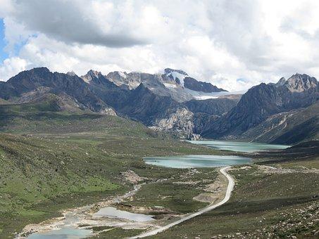 River, Landscape, Mountain View
