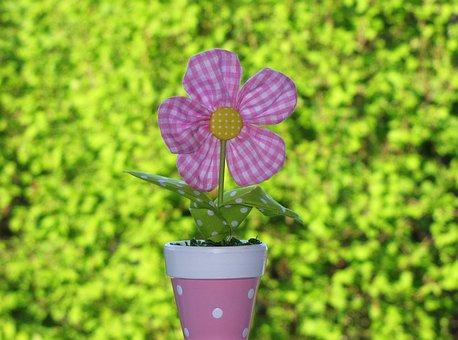 Fabric Flower, Arrangement, Long Lasting, Anti Allergic