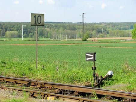 Railway, Route, Rails, Rural, South Bohemia