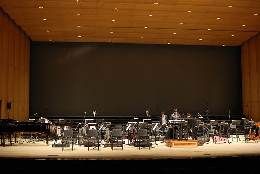 Stage, Rehearsal, Concert