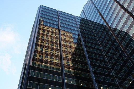 Chicago, Downtown, Skyscraper, Building, Rick Lobes