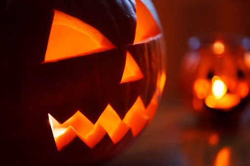 Autumn, Decoration, Face, Fall, Scary, Halloween, Head