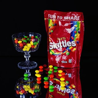 Skittles, Lollies, Sweets, Candy, Food, Tasty