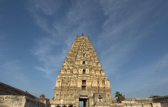 Virupaksha, Hampi, Temple, Travel, Unesco