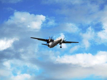 Airplane, Sky, Travel, Plane, Flight, Vacation, Trip