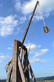 Trebuchet, Catapult, Medieval Weapon, Castelnaud Chapel
