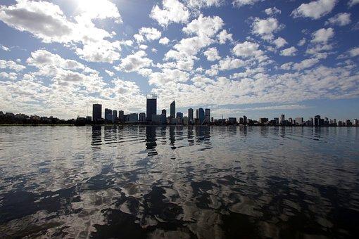 Swan River, Perth, Wa, Australia, River, Swan, Western