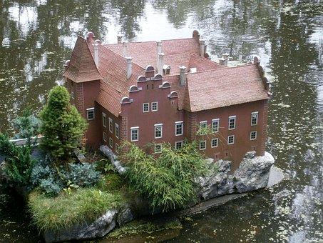 červená Lhota, Castle, Czech Republic, Miniature