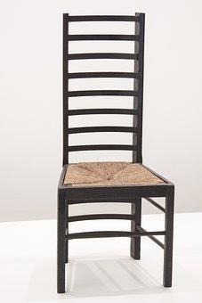 Chair, 1903, Charles Rennie Mackintosh, Glasgow