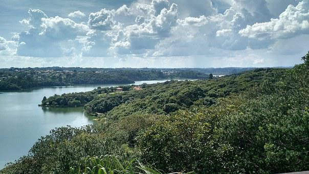Curitiba, Belvedere Park Passaúna, Clouds, Afternoon