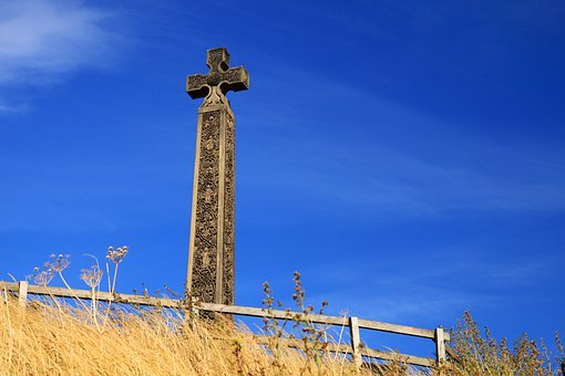 Ancient, Celtic, Cemetery, Cross, Culture, Faith, Grave