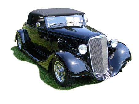 Car, Oldtimer, Chevrolet, Cabriolet, Convertible, 1934
