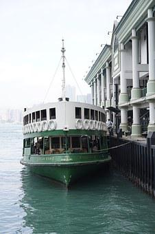Ferry, Star Ferry, Central, Hong Kong