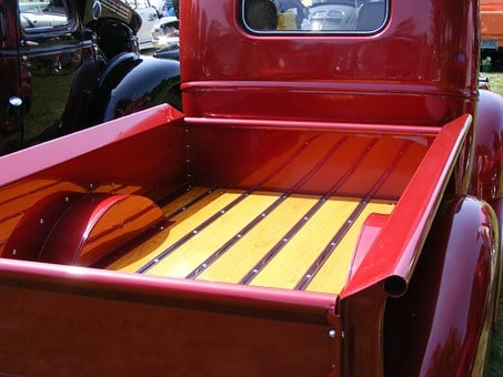Chevrolet, Chev, 1946, Red, Pickup, Truck, Box, Deck