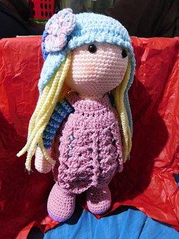 Amigurumi, Wrist, Woven, Child, Crochet, Toy