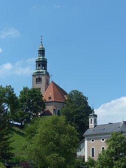 Müllner Church, Church, House Of Worship, Salzburg