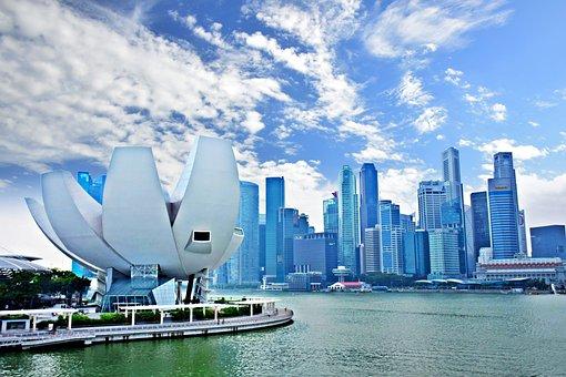 Marina Bay, Singapore, Ao, City, Skyscraper