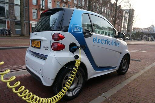 Amsterdam, Smartcar, Electric Car, Eco, Green
