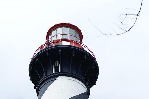 St Augustine Lighthouse, Lighthouse, Florida, Beacon