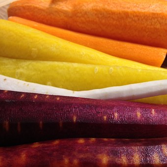 Carrots, Turnip, Food, Vegetables, Healthy