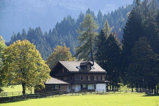 Home, Hunting Lodge, Hut, Mountain Hut, Hiking, Nature