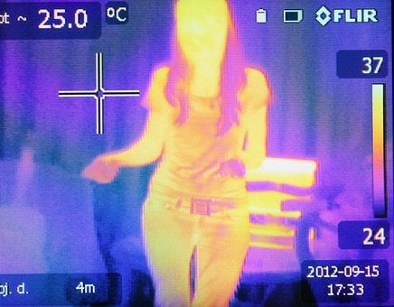 Heat, Image, Infrared, Thermogram, Thermographic