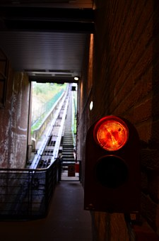 The Funicular, Traffic, Red Light, Cabin, Italy