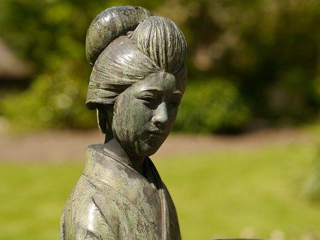 Memoirs Of A Geisha, Leverkusen, Japanese, Sculpture